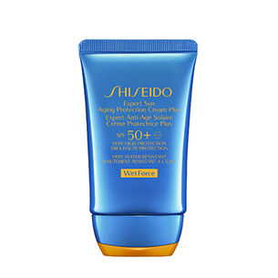 Expert Sun Aging Protection Cream Plus - Shiseido, Gesicht