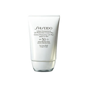 Urban Environment UV Protection Cream Plus SPF50 - Shiseido, Gesicht