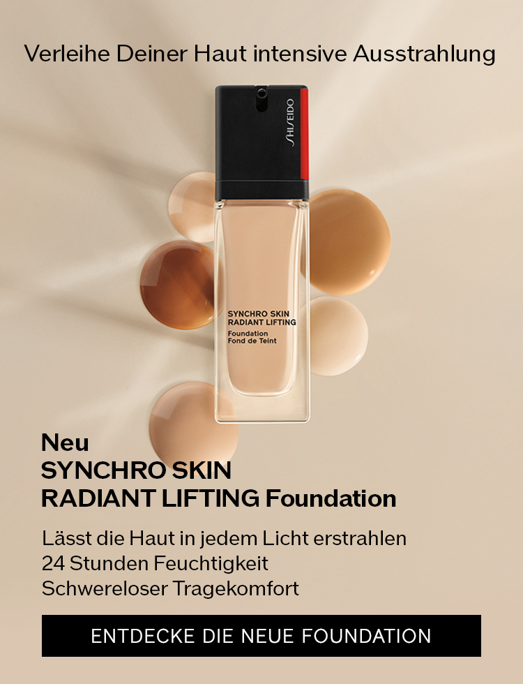 Verleihe Deiner Haut intensive Ausstrahlung Lässt die Haut in jedem Licht erstrahlen 24 Stunden Feuchtigkeit Schwereloser Tragekomfort