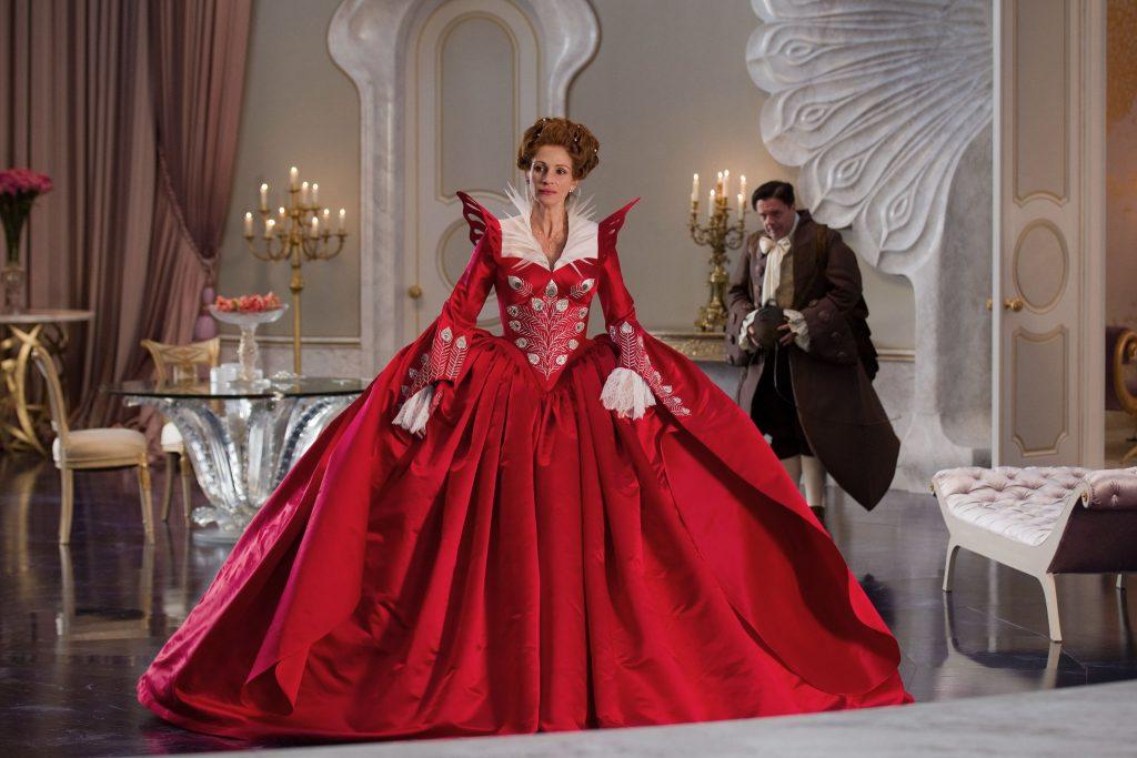 Red Opera Costume Dress Designed by Eiko